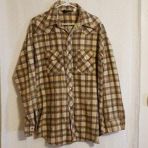 Vintage | Plaid Oversized Flannel